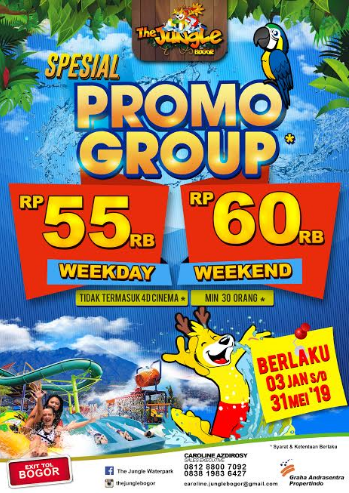 Harga Tiket Masuk The Jungle Waterpark Bogor Januari 2019 The